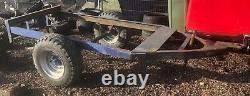 Remorque À Essieu Unique De 3,4 Tonnes Avec Ring Hitch Shepherd Hut Etc. Projet