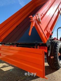 Remorque Agricole De 4 Tonnes Drop Side Tipper Trailer, Jacksta Dump Trailer Uk