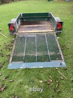 Remorque D'usine Lourde Hazlewood 750kg Simple Essieu