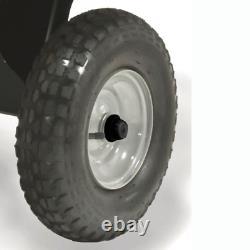 Remorque De Camion De Chariot De Décharge En Acier Atv Garden Wheelbarrow Haul Agri-fab Yard Trailer