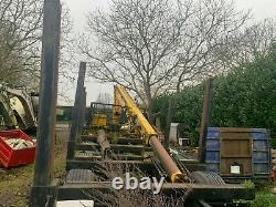Remorque En Rondins Avec Hiab Robuste Atlas De 20 Tonnes 3008