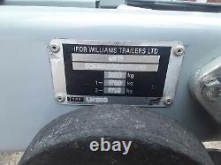 Remorque Ifor Williams 12ft X 6ft 3500kg Poids Lourd