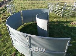 Robuste Galvanisé Bâché Panneaux De Mouton Courbes