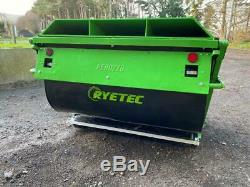 Ryetec 1.8m Heavy Duty High Tip Rotobroyeur Entrepreneur Collector Réformé