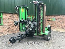 Ryetec 5 Mètres Tracteur Heavy Duty Fléau Gang Mower Pour Les Champs De Parc Et Sport