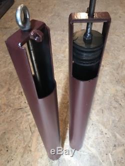 Sable Pompe / 90-130mm Bailer / Auger Système / Puits D'eau / Trou Post / Forage