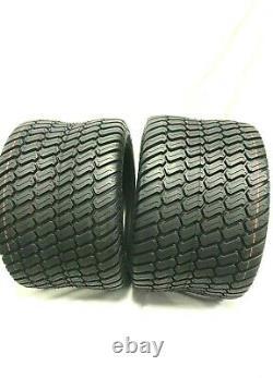 Set Deux -23x10.50-12 Tire De Tracteur De Tondeuse De Pelouse Lourd 23x10.50-12 Nhs