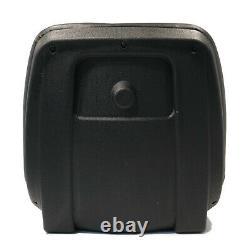 Siège Arrière Haut Noir Pour Tondeuses À Gazon Kubota F2880, F3560, Gf1800, Gr2110, Tg1860