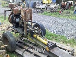 Splitter Hydraulique De Notation Hydraulique De Poids Lourd Entraîné Par Tracteur Remorquable