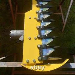 Taille-haies Digger, Cutter, Hydraulique Heavy Duty Finger Bar, Grand 1.85m