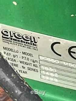 Technik Vert Lourd Déchiqueteuse De Service
