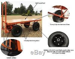 Tirez Panier Heavy Duty Truck Avec Une Capacité De 1000 KG Cartabouta Flat Bed Uk Stock