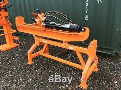 Tondeuse A Bord Verticale / Horizontale 25 Tonnes, Montée Sur Tracteur, Hydraulique Lourde