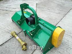 Tondeuse À Fléaux Montée Sur Tracteur 2,05 M Offset Pour Usage Intensif £ 1899 Ttc Et Livraison