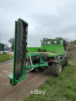 Tondeuse À Fléaux Robuste Montée Sur Tracteur Rsl 2m Coupé New Inc Tva Incluse
