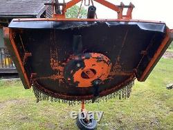 Tondeuse À Topper Montée Sur Tracteur, Tondeuse À Topper Entraînée Par Pto, Kubota, Wessex