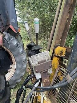 Tracteur 3pl Chariot À Fourche Montée Mât, Fourche À Palettes 3 Point Linkage Mcconnell
