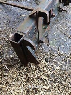 Tracteur Bale Pointe Lifter Pas De Tva Sur Euro Et Kramer Heavy Duty Supports