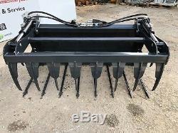 Tracteur Compact À Fourche Robuste Muck Grab Bobcat Skidsteer À Partir De 950 € + Tva