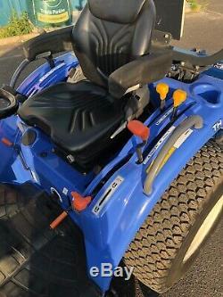 Tracteur Compacte Iseki 32hp Pour Travaux Lourds, Moyenne Pont, Annee 62, Route Enregistree