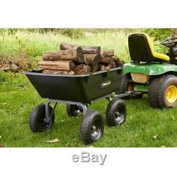 Tracteur De Décharge De Tracteur De Jardin De Brouette Résistant Aménageant La Ferme De Remorquage