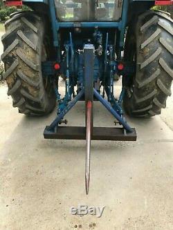 Tracteur Monté À L'arrière Bale Pointe No Tva 39 Spike No Play