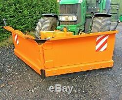 Tracteur Montée Robuste Hydraulique Chasse-neige, Griter, Charrue, Jcb
