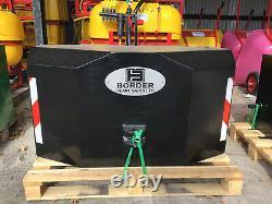 Tracteur Poids Bloc 1200kg Complet Avec 3 Points Lien Noir