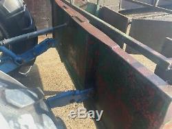 Tracteur Transport Link Box Tva Inc 6' X 2'6 Heavy Duty Sol Et Élevage Ferroviaire