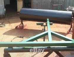 Usage Intensif 6 Pi 20 Dia. Ferme / Champ / Agri. Tracteur À Rouleaux / Paddock Remorquable