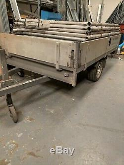 Utilisé Ifor Williams Ridelles Lourd Remorque Service