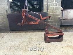 Vintage Ditcher / Peat Cutter / No Trancheuse Tva Bonne Condition Costume Tractor Vintage