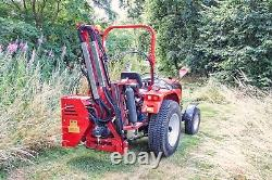 Wam80 Winton Flail Hedge Cutter 80cm De Large Pour Tracteurs Compacts