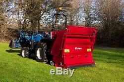 Wfc120 Winton Fléau Collector / Tondeuse 1.2m Large Pour Tracteurs Compacts