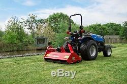 Wfl125 Tondeuse À Fléaux Robuste Winton 1.25m De Large Pour Tracteurs Compacts