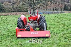 Wfl175 Tondeuse À Fléaux Robuste Winton, 1,75 M De Large Pour Tracteurs Compacts