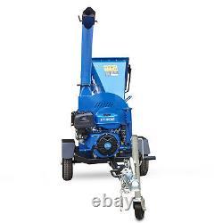 Wood Chipper Garden Branche Shredder Electric Start Essence 14hp 420cc Duty Heavy