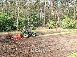 Wsb105 Winton Stone Burier Heavy Duty 1,05m De Large Pour Les Tracteurs Compacts