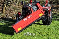 Wvf150 Fléau Verge Résistant Winton 1,5m De Large Pour Tracteurs Compacts