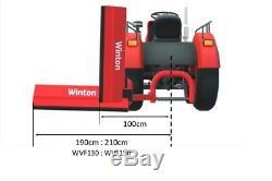 Wvf150 Winton Heavy Duty Verge Fléau 1.5m Large Pour Tracteurs Compacts