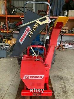 Zanon Bio 8t Pto Conduit Industriel Bois Broyeur De Broyeur Alimentation Hydraulique