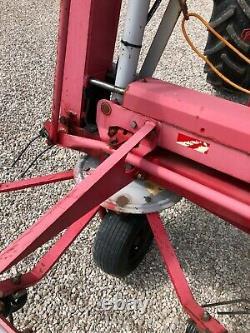 #b1193 Jf Stoll Z 765 Pro Entrepreneur Spec Lourd 6-rotor Tedder. Très Forte